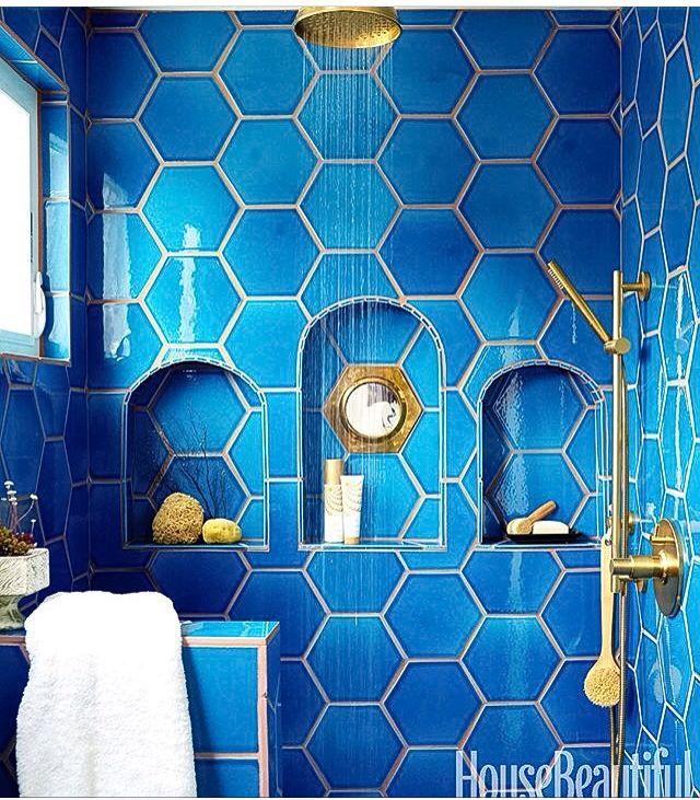 Blue Tile Bathroom 75 best blue tile & ginger jars images on pinterest | hanging