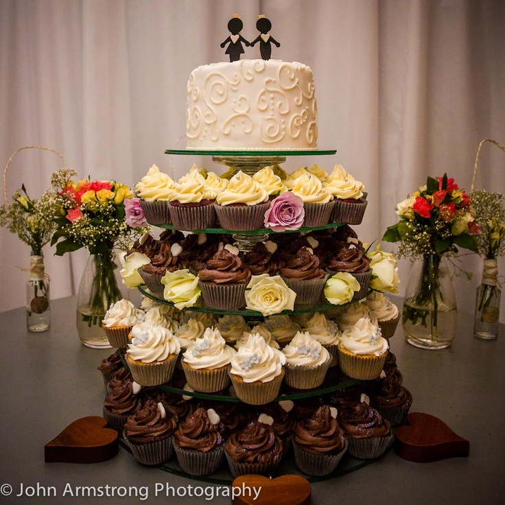 Life is short - eat dessert first - Wedding Cake
