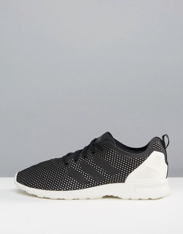 Adidas ZX FLUX ADV Smooth Performance Sneakers - Black