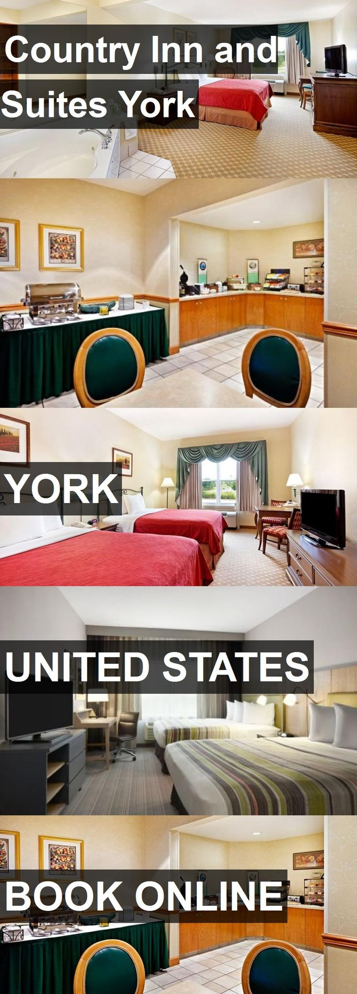 Hotel Country Inn and Suites York in York, United States. For more information, photos, reviews and best prices please follow the link. #UnitedStates #York #travel #vacation #hotel