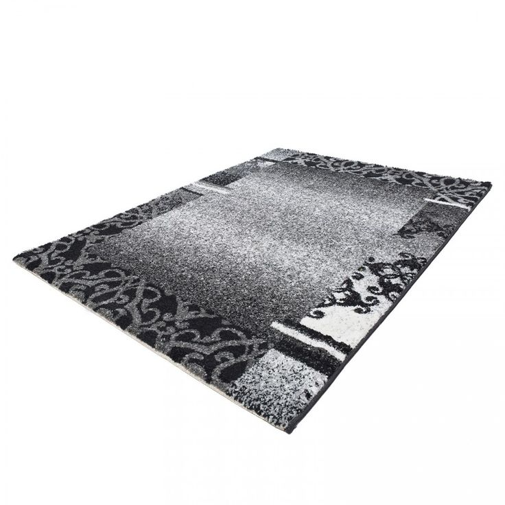 This polyester hand-made rug is bold and beautiful. They are 100% polyester and are known for their ultimate comfort and durability. The black colour dual tone creates an amazing pattern. It is suitable for kitchens and dining halls.  #handmaderugs, #blackrug, #polyesterrug, #durability