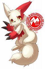 [Note to self: I like the eyes] pokemon cute Zangoose