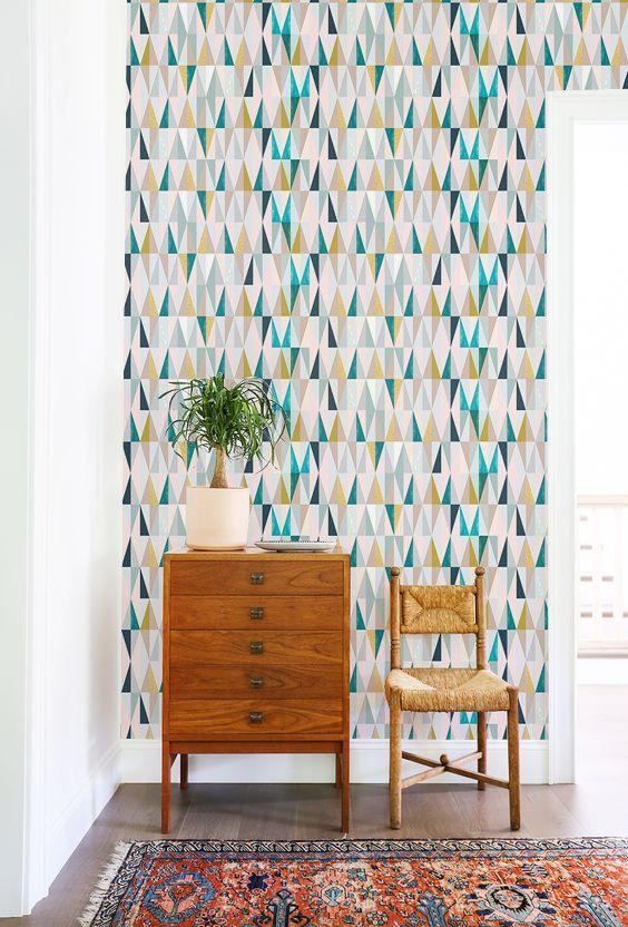 Les 118 meilleures images du tableau papier peint wallpaper sur pinterest peindre papier - Idee deco wallpaper volwassene kamer ...