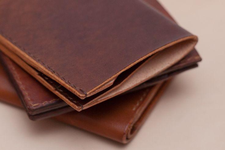 Plånbok - Grönfjäll, Wallet, Tomshantverk