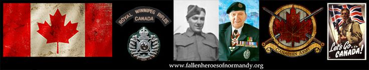 In Memoriam... Major Cliff Chadderton. Royal Winnipeg Rifles, Canadian Army. D-Day and Normandy Veteran. Aged 94...  Link to obituary notice at: http://fallenheroesofnormandy.wordpress.com/normandy-veteran-obituaries/canadian-normandy-veterans-memorial-page/ and via Twitter at https://twitter.com/CarlShilleto & via facebook at https://www.facebook.com/fallenheroesofnormandy www.fallenheroesofnormandy.org