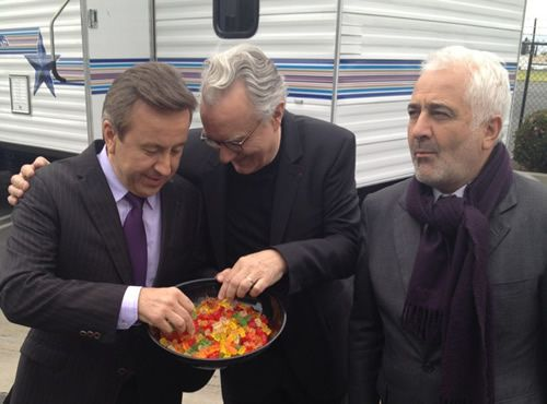 Here's a Photo of Daniel Boulud, Alain Ducasse, and Guy Savoy Eating Gummy Bears: Chefs Guys, Delicious Sweets, Chefs Daniel, Celebrities Chefs, Bears, Beautiful Moments, Eating, Daniel Boulud, Alain Ducasse