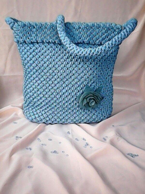 Tas Tali Kur #talikur #bag #handmade #blue