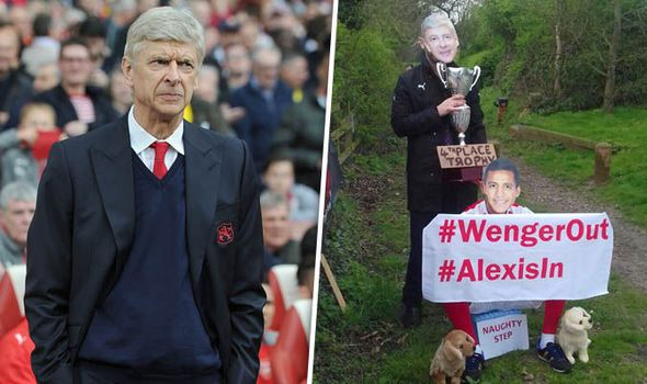 Spotted: Arsenal fans protest against Arsene Wenger outside London Colney training ground   via Arsenal FC - Latest news gossip and videos http://ift.tt/2nEHspw  Arsenal FC - Latest news gossip and videos IFTTT