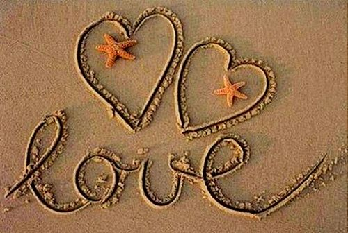 Nothing more romantic than the beach...