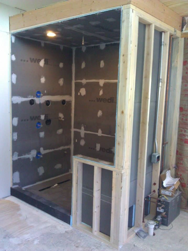 cutting edge kitchen and bath wedi waterproof shower system steamer unit application - Fantastisch Bing Steam Shower