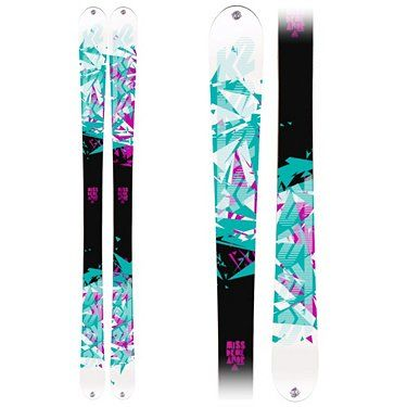 The ULTIMATE twin-tip skis.  2011 K2 MissDemeanors.  You'll be hard-pressed to find them!
