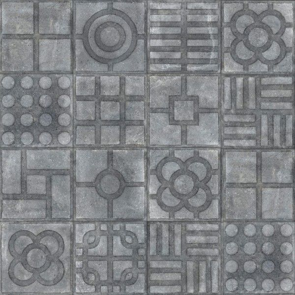 Kolekcja World Street - płytki podłogowe Paulista Grafito 20x20 MIX
