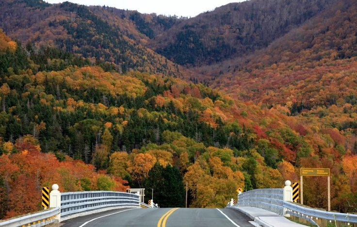 Cabot Trail in the Fall.