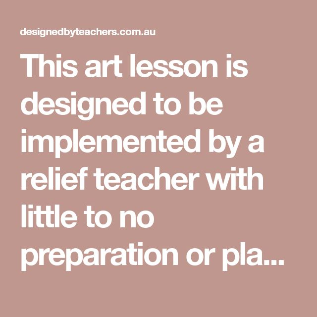 This art lesson is designed to be implemented by a relief teacher with little to no preparation or planning It begins with a brief discussion of what mandalas are Some examples of completed mandalas are provided for student viewing From there a demonstration on how to construct a mandala is given