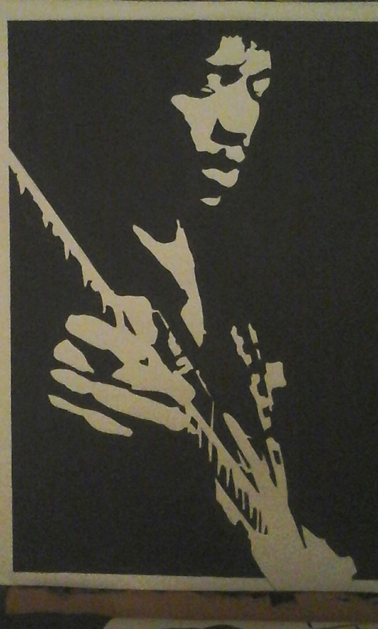 Jimi hendrix / painting by Roy ☆ ☆ ☆ ☆ ☆