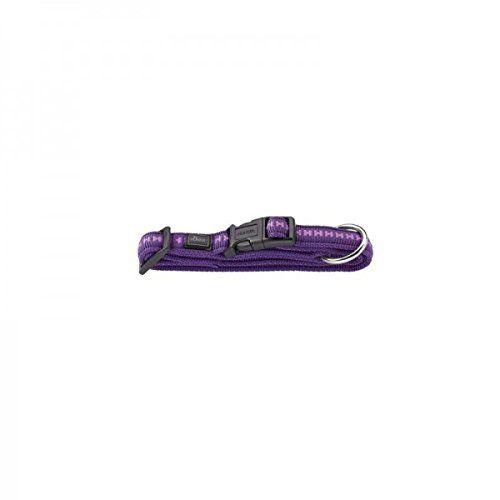 Aus der Kategorie Klassische Halsbänder  gibt es, zum Preis von EUR 18,35  Verstellmöglichkeit: 40,0 - 55,0 cm. Nylon Soft, genäht, Metallteil vernickelt, durch Schieber stufenlos verstellbar, praktischer Steckverschluss, mit Zugentlastung, Farbe: violett Power Grip das...