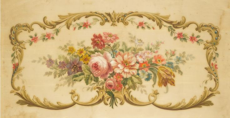 The Painted Room: French Aubusson Tapestry Paintings