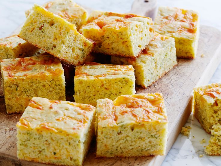 Cheddar Dill Cornbread recipe from Ina Garten via Food Network
