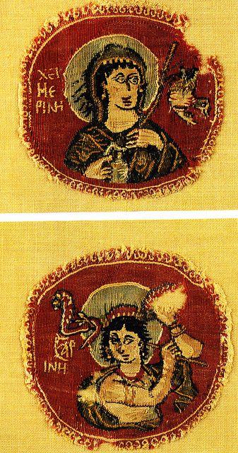 Coptic textile from the Musée du Louvre | 5th CE