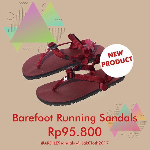 Produk Terbaru Ardiles Barefoot Running Sandals Lari Semakin