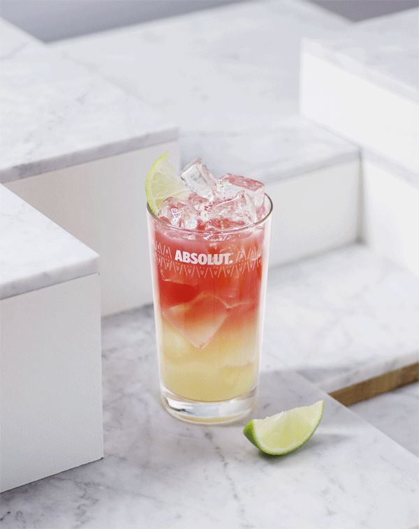 Absolut Very Peary Breeze