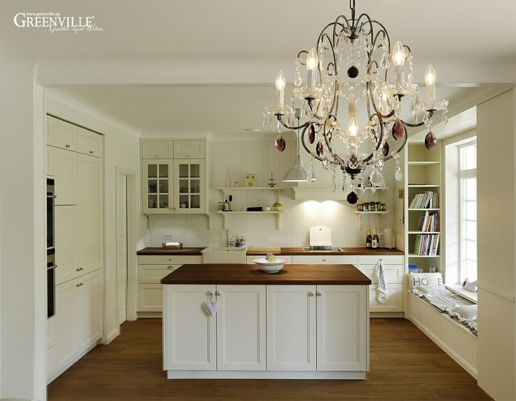 25 b sta id erna om landhausk che wei p pinterest k che landhausstil wei k che. Black Bedroom Furniture Sets. Home Design Ideas