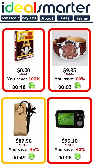 I have gotten the best deals on #IDS #iDealSmarter http://www.idealsmarter.com/ the selection of cool electronics and accessories are fantastic!