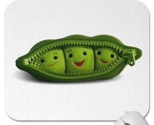 Peas-in-a-Pod  Mousepad