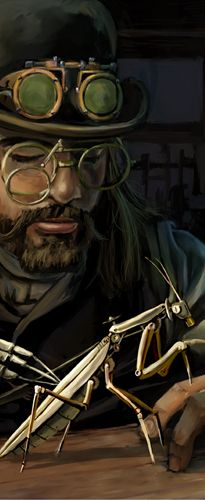 What the is Steampunk? great site with incredible art, links and all will be made clear...