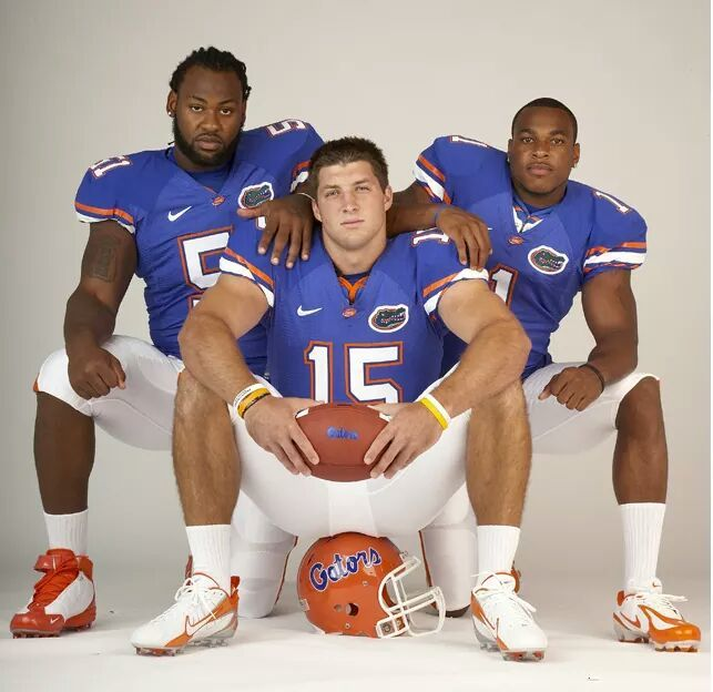 Spikes, Tebow, Harvin
