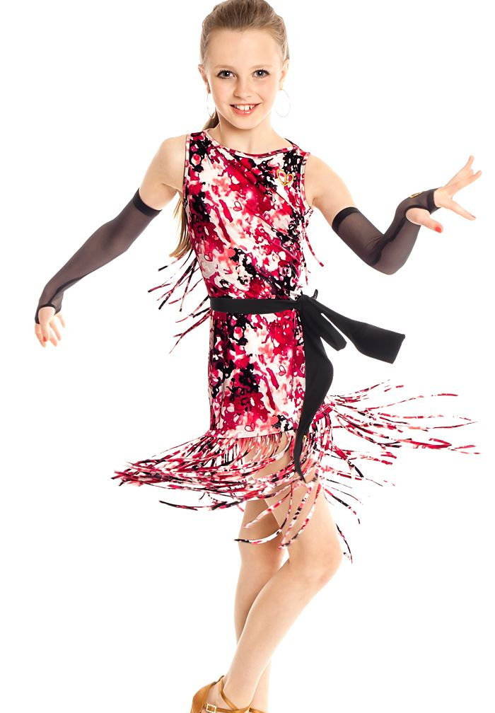 Gio Mio Manilla Girls Dress GM0816| Dancesport Fashion @ DanceShopper.com