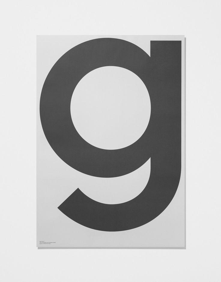 Grey Poster — G