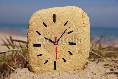 Stone clock