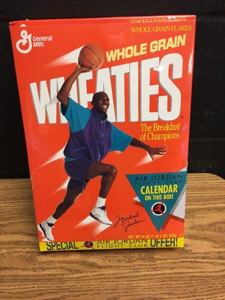 Michael Jordan Wheaties Box Unopened Shrink Wrap Flight Club Calendar Basketball