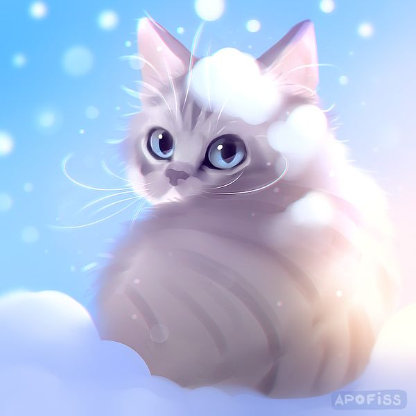 1000 ideas about cat wallpaper on pinterest wallpaper - Anime cat wallpaper ...