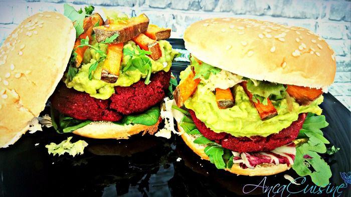 Vom prepara azi un burger vegetal extraordinar de gustos si aromat.