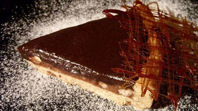 Csiperke blogja: Csokoládés pite mogyorós karamellel