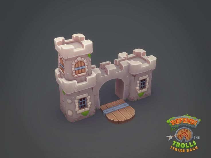 low poly castle critique - polycount