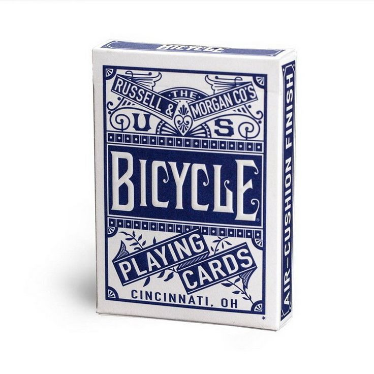 promo bicycle chainless 1 deck red or blue regular bicycle playing cards rider back standard decks #standard #paper #size