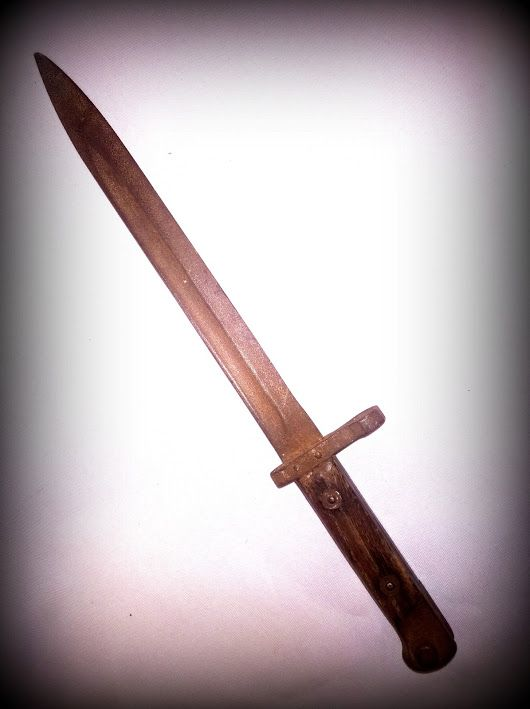 2.WW BAYONET, 1960-1999 PAGAN CEREMONY ACCESSOIRE -   SALE!!! ...for those, who know, what is the use of the pagan-witches ceremony :) Size: blade 240 mm, grips 103 mm * Price: $ 100 * Shipping: by arrangement * 1. owner: only in person! THIS IS THE VALUE!!! - old history * 2. owner: Evvalena Salon and Magdorka Design Studio, Bp. V. Galamb Street * Mail: tunderkepzo@gmail.com