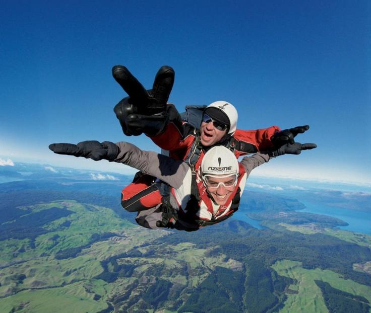 Skydiving - Rotorua - New ZealandBuckets Lists, Extreme Things, Tandem Skydiving