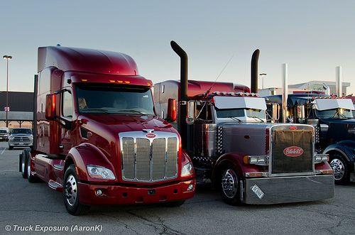 Peterbilt 579 Big Rig Trucks Peterbilt Peterbilt Trucks