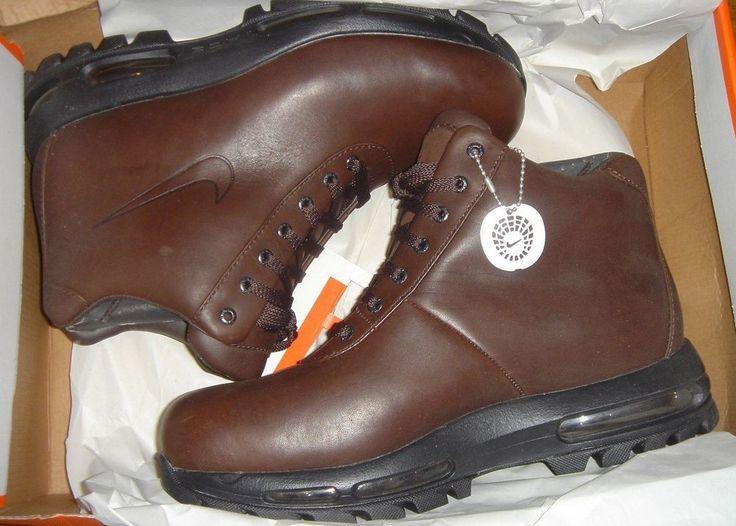 Nike Air Max All Trac Acg Boots Goadoam Seamless Brown Size 9 New