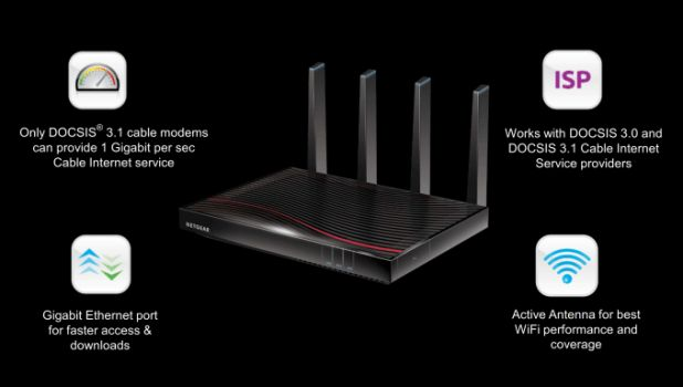 Netgear Launches Nighthawk X4S AC3200 DOCSIS 3.1 Cable Modem Router - https://www.loudread.com/netgear-launches-nighthawk-x4s-ac3200-docsis-3-1-cable-modem-router/