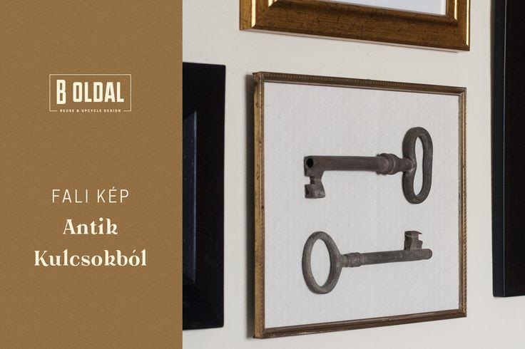 Hangulatos kép antik kulcsokból