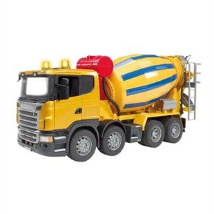 Scania R-Series Cement Mixer Truck | Toys | chapters.indigo.ca