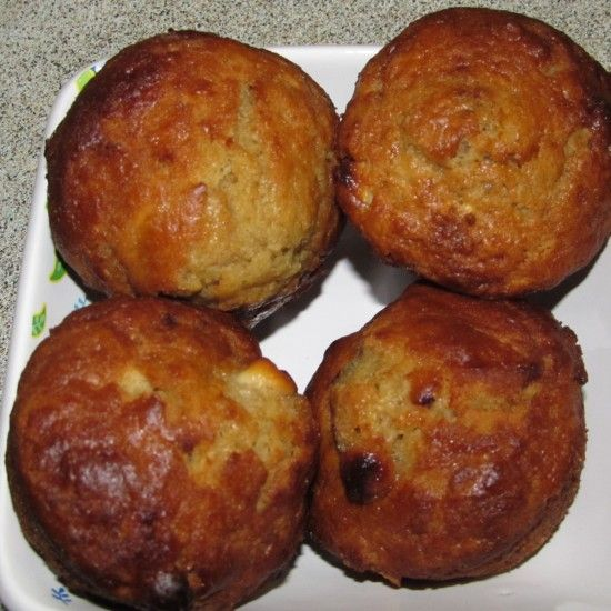 Your Inspiration at Home White Chocolate & Rose Muffins #YIAH #muffins