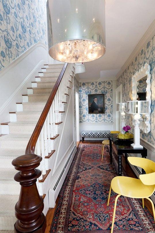 Foyer Rug Winter : When eras collide the ways pinterest entry hallway