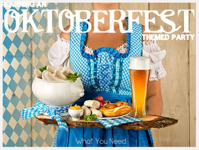 A list of the food you need to have an authentic Oktoberfest party. via @xxdinlo88