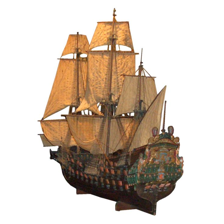 Oversize model of a gun ship,  De Zeven  Provincien,from  1666-1674, was  the flangship of Admiral Michiel de Ruyter,one the most  famous sea officers the Dutch  Republic had  ever seen.I  I love the antique ships!!!!
